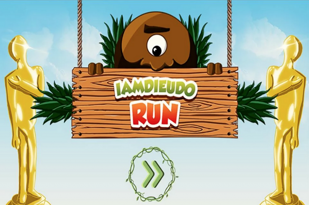 Iamdieudo Run Logo
